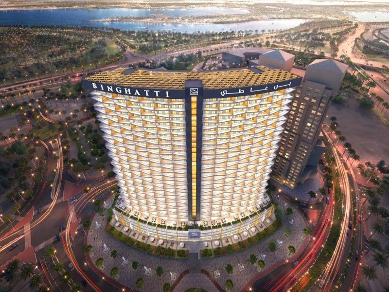 الصورة : تصميم مشروع بن غاطي أفينيو في مدينة دبي الطبية | من المصدر