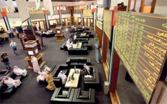 الصورة: الصورة: 8.1 مليارات مكاسب أسواق الأسهم