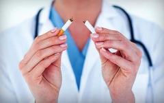الصورة: الصورة: توصية بالتوقف عن التدخين قبل جراحة مفصل الركبة