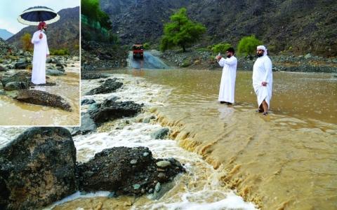 الصورة: الصورة: مطر الإمارات