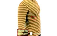 الصورة: الصورة: قميص إلكتروني يراقب معدل تنفس مرتديه