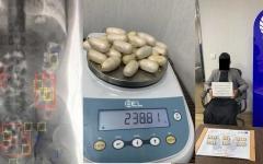 الصورة: الصورة: ضبط 16 محاولة تهريب مواد مخدرة عبر الأحشاء بمطارات دبي في 9 أشهر