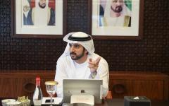 الصورة: الصورة: حمدان بن محمد: تقييم استثنائي لأداء استثنائي للجهات الحكومية في دبي هذا العام
