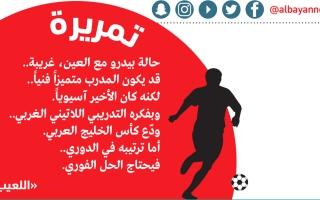الصورة: الصورة: بيدرو يودّع كأس الخليج العربي