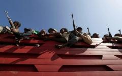 الصورة: الصورة: إطلاق صواريخ على عاصمة إريتريا من إثيوبيا