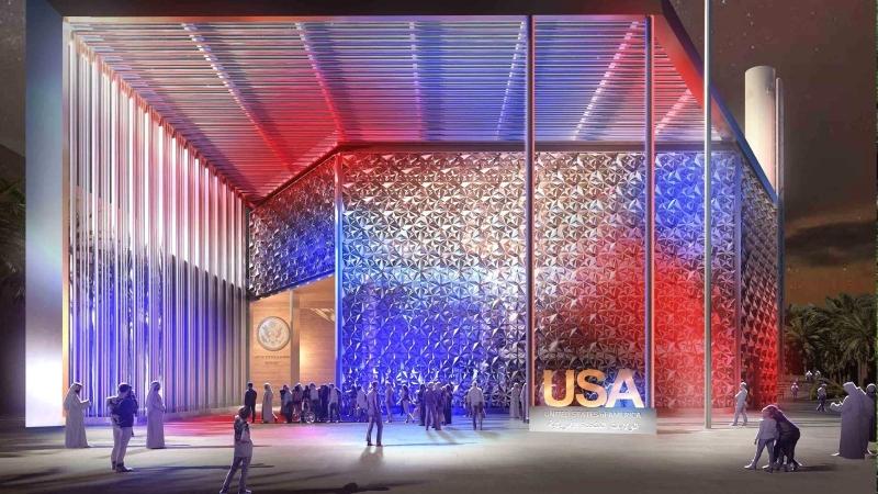 الصورة : تصميم جناح الولايات المتحدة في إكسبو 2020 دبي | البيان