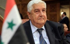 الصورة: الصورة: من هو وليد المعلم وزير الخارجية السوري الراحل؟