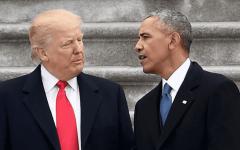 """الصورة: الصورة: أوباما """"يحذر"""" ويوجه نصيحة لترامب"""