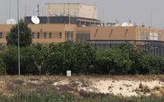 الصورة: الصورة: هجوم صاروخي يستهدف السفارة الأمريكية في العراق