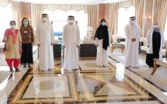 الصورة: الصورة: حمدان بن محمد:  إنجازات أطبائنا تؤكد ريادة الإمارات في كل مجالات الرعاية الصحية