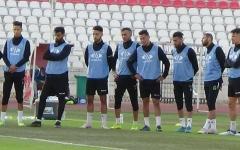 الصورة: الصورة: لاعبو اتحاد بلعباس الجزائري يقاطعون التدريبات