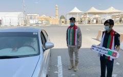 الصورة: الصورة: منافذ الإمارات البرية تحتفي بالأشقاء العمانيين وتهنئهم بالعيد الوطني لبلادهم