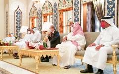 الصورة: الصورة: قمة إماراتية بحرينية أردنية تبحث تعزيز العلاقات الأخوية والتكامل في القطاعات الحيوية