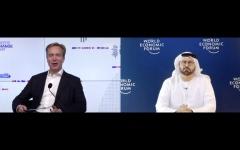 الصورة: الصورة: القرقاوي يستعرض أبعاد التجربة الإماراتية الرائدة أمام القمة العالمية لرواد التغيير