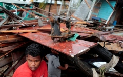 الصورة: الصورة: ارتفاع حصيلة وفيات العاصفة أيوتا في أمريكا الوسطى والجنوبية إلى 45