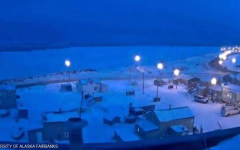 الصورة: الصورة: فيديو..الشمس تغيب عن هذه المدينة ولن تعود قبل 66 يوماً