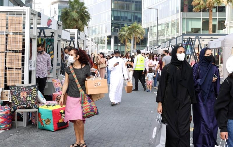 الصورة : مجموعة متنوعة من الفعاليات والعروض والحوارات الحية والرقمية شهدها أسبوع دبي للتصميم | البيان