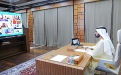الصورة: الصورة: محمد بن راشد: الإمارات بقيادة خليفة حريصة على لعب دور فعال في دعم جهود التصدي لـ«كورونا»