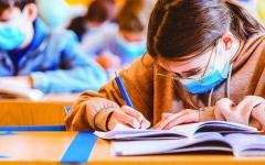 الصورة: الصورة: امتحانات الفصل الدراسي الأول: الرياضيات دقيقة للمسار المتقدم ومرضية للعام