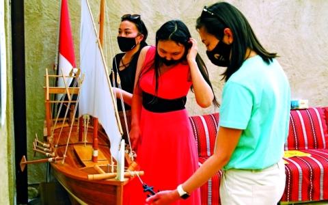 الصورة: الصورة: في رحاب متحف دبي