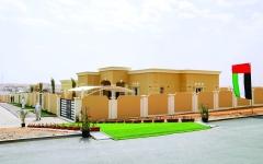 الصورة: الصورة: «بطين السمر» السكني يجسد جهود الدولة في توفير الحياة الكريمة للأسرة الإماراتية