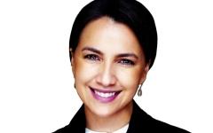 الصورة: الصورة: مريم المهيري خلال قمة العشرين:   «كورونا» أعاد تأكيد الحاجة إلى بناء قدرة البلدان