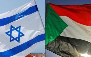 الصورة: الصورة: وفد إسرائيلي إلى السودان