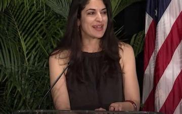 الصورة: الصورة: معلومات جديدة عن أصول ريما دودين المرشحة لمنصب مرموق في البيت الأبيض