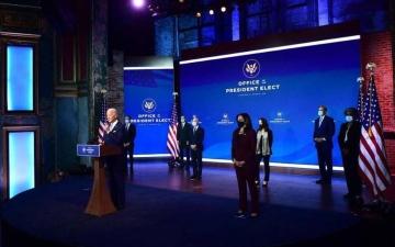 الصورة: الصورة: بايدن يؤكد أن أمريكا جاهزة لقيادة العالم