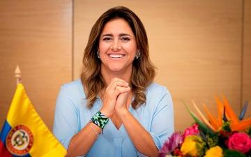 الصورة: الصورة: إصابة سيدة كولومبيا الأولى بفيروس كورونا