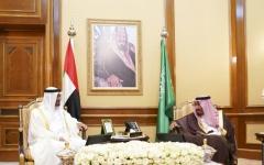 الصورة: الصورة: محمد بن زايد: نجاح قمة العشرين يجسد دور السعودية المحوري دولياً
