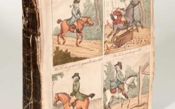 الصورة: الصورة: رسومات كونستابل مخبأة في كتاب منذ 200 عام