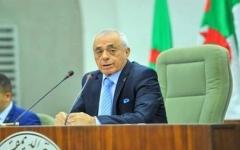 الصورة: الصورة: وفاة رئيس مجلس النواب الجزائري الأسبق