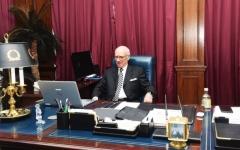 الصورة: الصورة: وزير شؤون مجلس الوزراء البحريني لـ«البيان»:  المملكة قطعت شوطاً كبيراً في التميز المؤسسي الحكومي