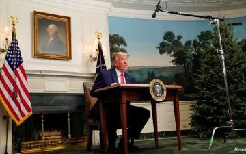 الصورة: الصورة: ترامب: سأغادر البيت الأبيض إذا صدق المجمع الانتخابي على فوز بايدن