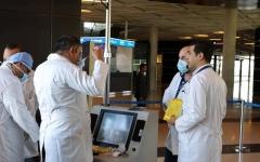 الصورة: الصورة: الأردن يعلن عن بوادر انخفاض تفشي فيروس كورونا