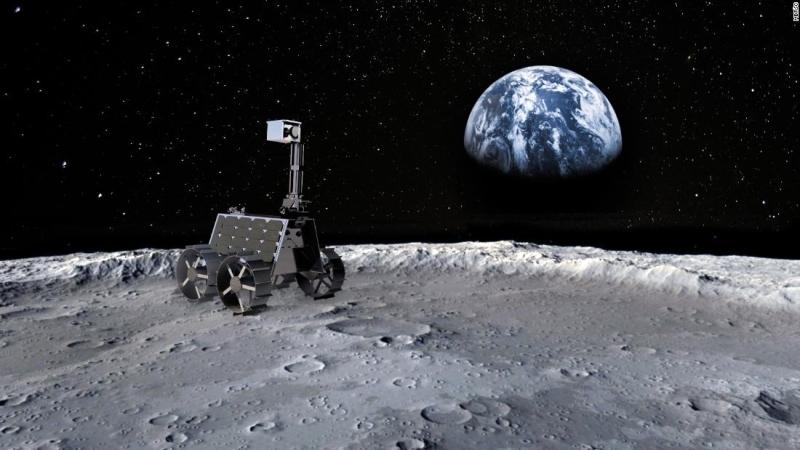 الصورة : المركبة «راشد » ستهبط في منطقة غير مكتشفة من القمر | من المصدر