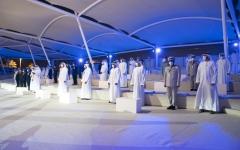 الصورة: الصورة: محمد بن راشد:  تحية لأبناء قواتنا المسلحة الباذلين أنفسهم لحماية تراب الإمارات