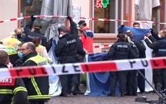 الصورة: الصورة: 5 قتلى و15 جريحاً في حادث دهس بألمانيا