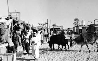الصورة: الصورة: منطقة الخليج العربي في مجلة مصرية (1)