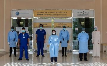 الصورة: الصورة: 70 متطوعاً ومتطوعة يواصلون أداء مهامهم  خلال إجازة اليوم الوطني