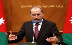 الصورة: الصورة: وزيرا خارجيتي الأردن وإسرائيل يبحثان إعادة إطلاق مفاوضات السلام مع الفلسطينيين