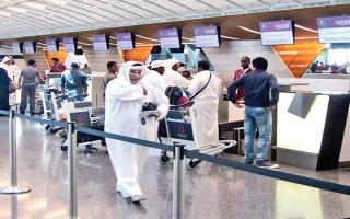 الصورة: الصورة: فضيحة مطار الدوحة تُعرّي قطر