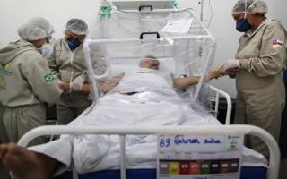 الصورة: الصورة: استفحال فيروس كورونا في البرازيل
