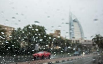 الصورة: الصورة: سقوط أمطار متفرقة في الإمارات اعتباراً من يوم غد وحتى الخميس