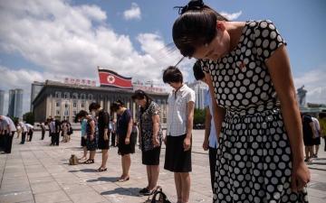 الصورة: الصورة: وزيرة خارجية كوريا الجنوبية: من الصعب تصديق خلو جارتنا الشمالية من كورونا