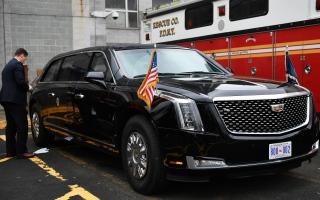 """الصورة: الصورة: تعرف على السيارة """"الوحش"""".. خط الدفاع الأول للرئيس الأمريكي"""