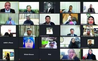 الصورة: الصورة: شعراء عرب يحيون قيمة الشعر في «مهرجان العويس الأول»