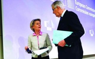 الصورة: الصورة: إشادة أوروبية واسعة باتفاق ما بعد «بريكست»