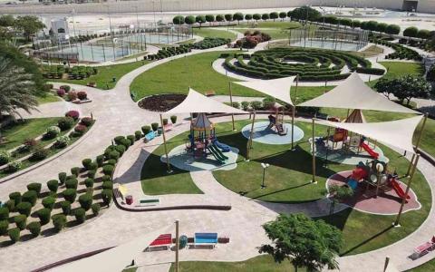 الصورة: الصورة: حديقة في أبوظبي تفوز بالمركز الثاني ضمن أفضل عشر حدائق في العالم